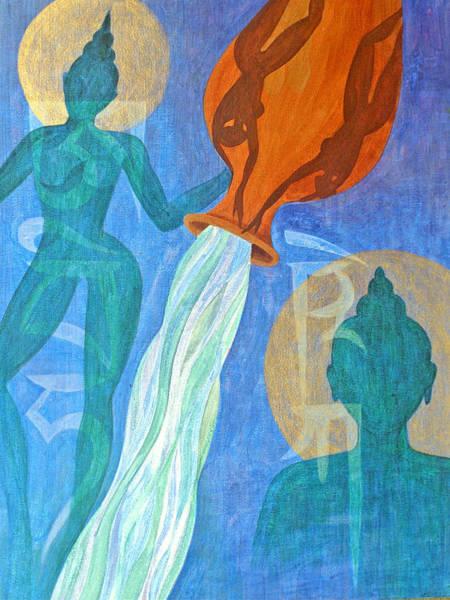 Wall Art - Painting - Initiation by Jennifer Baird