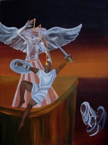 Initiation Painting - Initiation by Sonya Ki Tomlinson