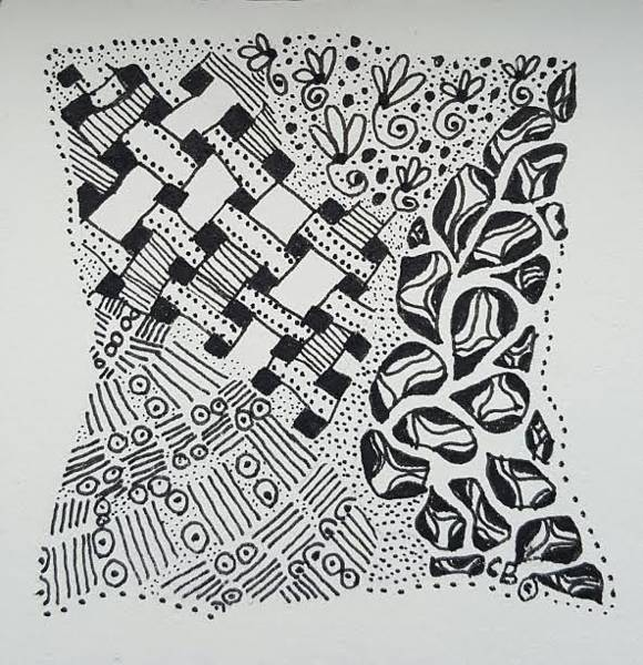 Drawing - Ink by Carole Brecht