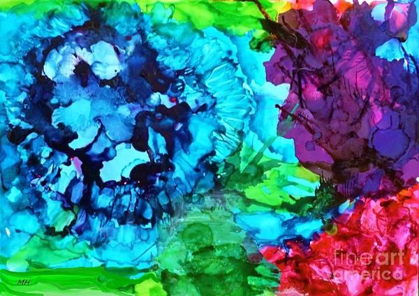 Wall Art - Mixed Media - Inks Gone Wild by Marsha Heiken
