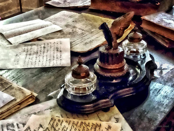 Photograph - Inkstand by Susan Savad
