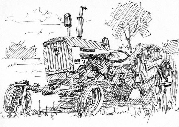 Drawing - Inktober 2017 No 11 by David King