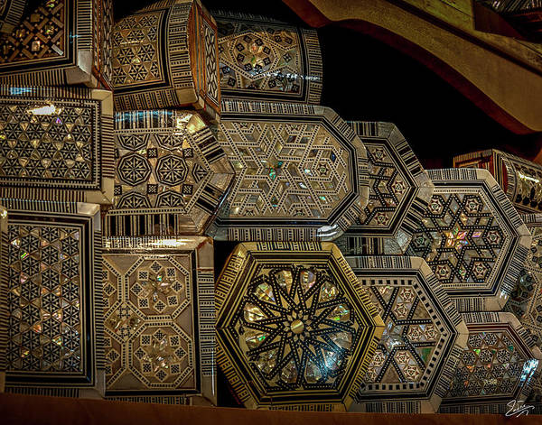 Photograph - Inlaid Boxes by Endre Balogh