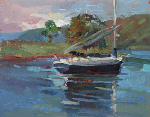 Painting - Inland Bay - Catalina Island by Betty Jean Billups