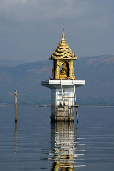 Wall Art - Photograph - Inle Lake Temple by Jessica Rose