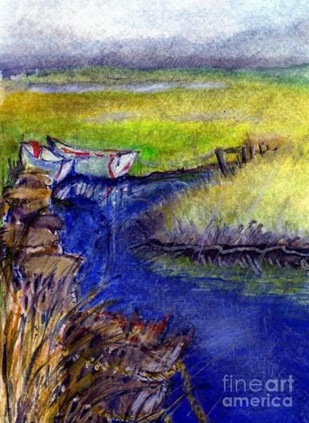 John Boat Creek Art Print