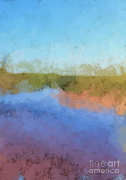 Prince Edward Island Painting - Inlet New London Beach Pei by Edward Fielding