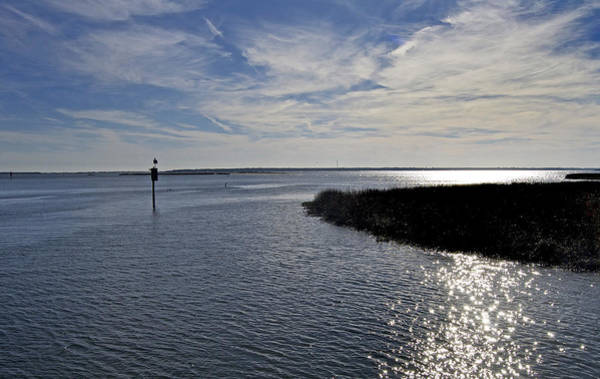 Skipjack Wall Art - Photograph - Inlet by Skip Willits