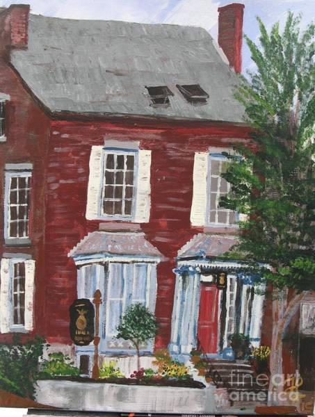 Painting - Inn At Park Spring by Francois Lamothe