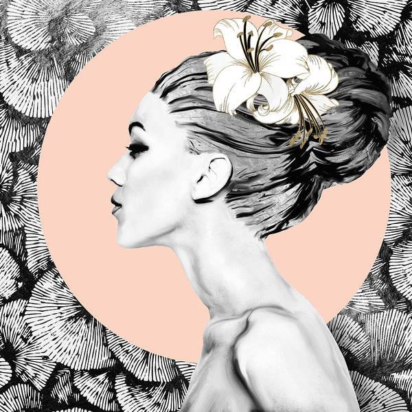 Contrast Digital Art - Inner Beauty Iv by Spacefrog Designs