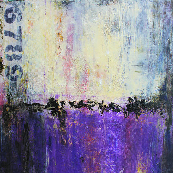 Cool Mixed Media - Inner City Blues by Patricia Lintner