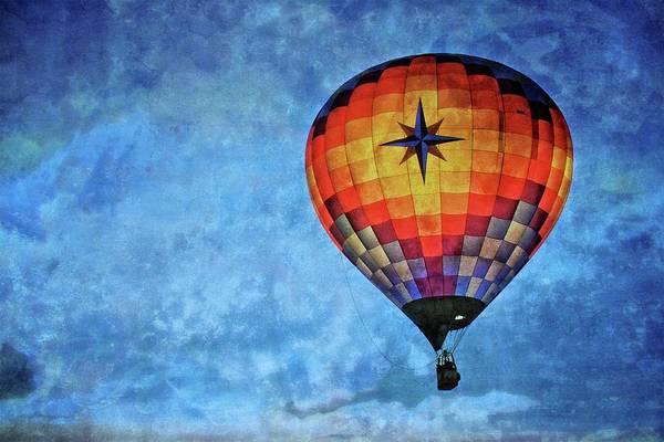 Photograph - Inner Glow, 2017 Albuquerque International Balloon Festival by Flying Z Photography by Zayne Diamond