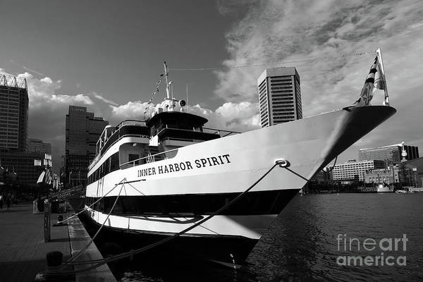 Photograph - Inner Harbor Spirit Baltimore by James Brunker