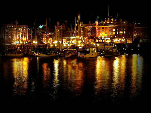 Photograph - Inner Harbour by Micki Findlay