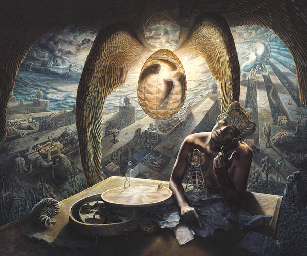 Truth Painting - Inner Journey by De Es Schwertberger