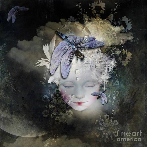 Thought Digital Art - Inner Life by Monique Hierck