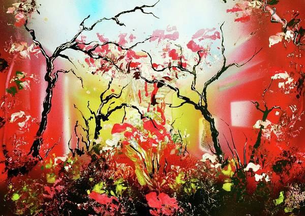 Wall Art - Painting - Inner Light by Nandor Molnar