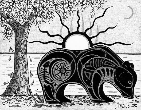 Drawing - Inner Rhythm by Barb Cote