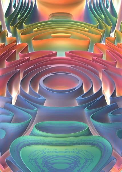 Wall Art - Digital Art - Inner Sanctum by Lyle Hatch