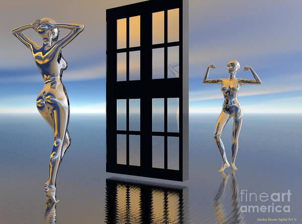 Digital Art - Inner Strength by Sandra Bauser Digital Art