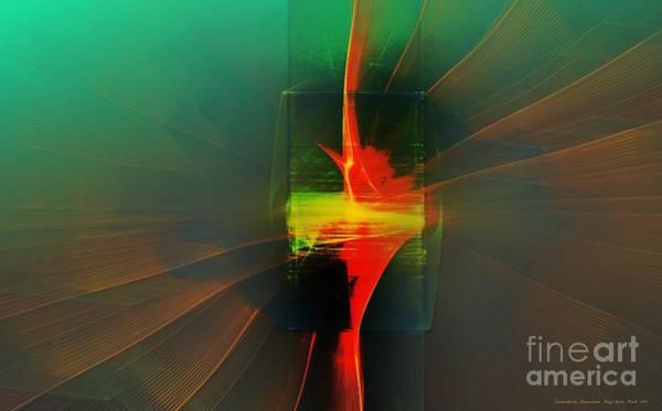 Digital Art - Inner Turmoil by Sandra Bauser Digital Art