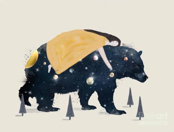 Universe Painting - Inner Wilderness by Bri Buckley