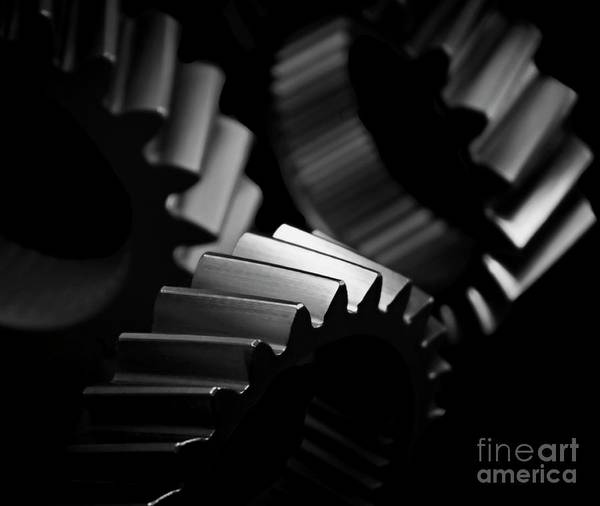 Wall Art - Photograph - Inner Workings Black And White by Chris Fleming