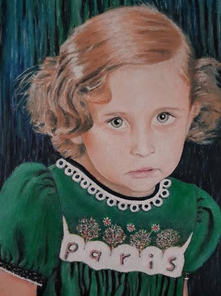 Painting - Innocence by Cassy Allsworth