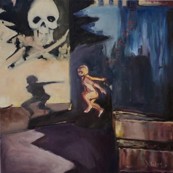 High Jump Painting - Innocence by Donna Tuten