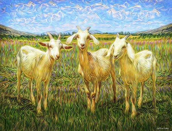 Digital Art - Innocent Wisdom by Joel Bruce Wallach