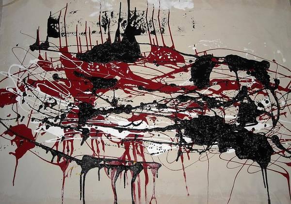 Wall Art - Painting - Inprogress-9 by CJ  Smalls