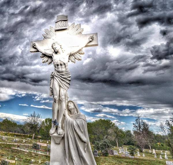 Photograph - Inri Riverside Cemetery  by Gia Marie Houck