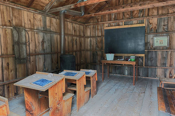 Photograph - Inside Brewster School by Susan Rissi Tregoning
