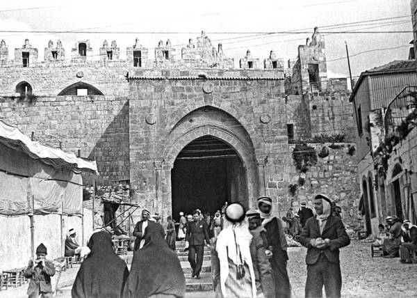 Damascus Photograph - Inside Damascus Gate by Munir Alawi