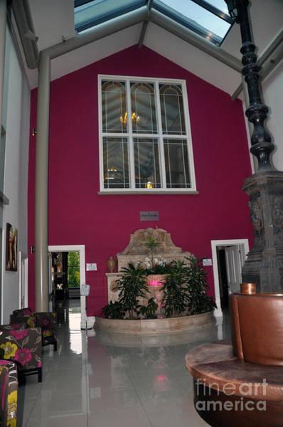 Inside Entry Lyrath Estate Hotel Art Print