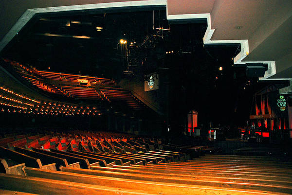 Photograph - Inside Grand Ole Opry Nashville by Susanne Van Hulst