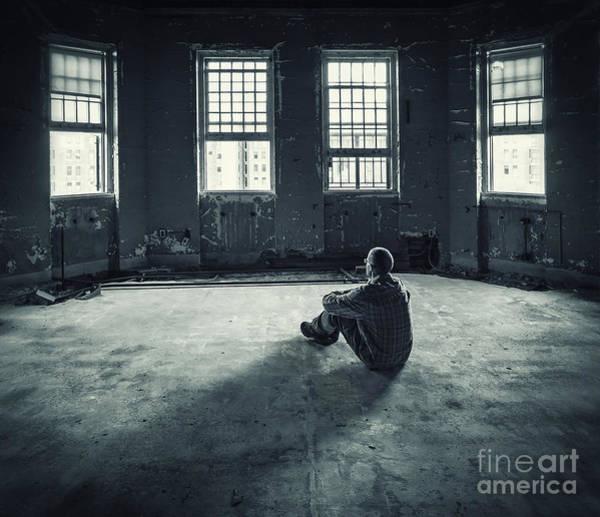 Solitary Wall Art - Photograph - Inside My Darkness by Evelina Kremsdorf