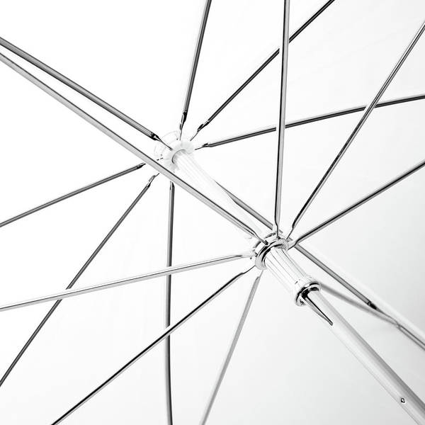 Photograph - Inside Of A White Umbrella by SR Green