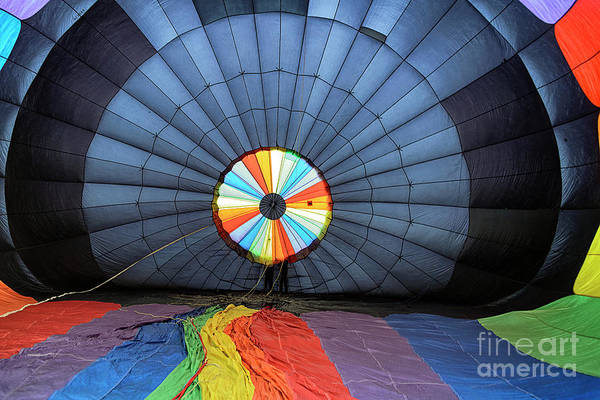 Photograph - Inside The Balloon by Craig Leaper