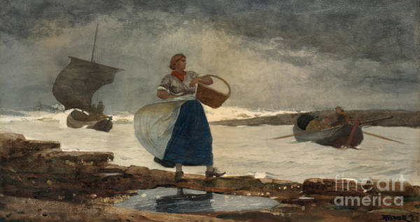 Inside Painting - Inside The Bar, 1883 by Winslow Homer