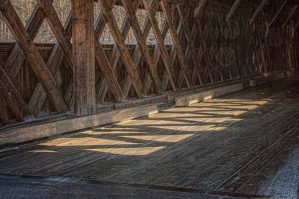 Photograph - Inside The Bridge by Tom Singleton
