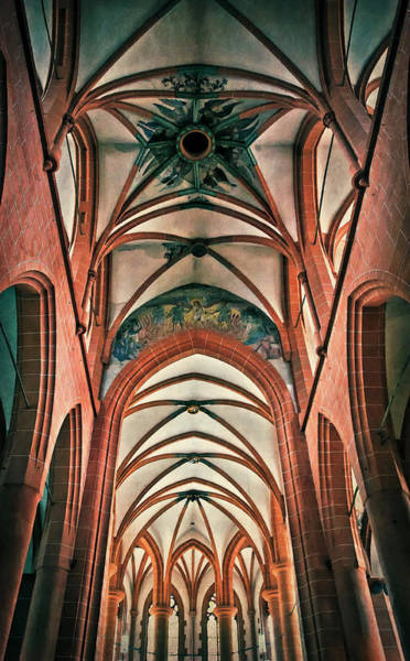 Photograph - Inside The Church Of The Holy Spirit, Heidelberg by Tatiana Travelways