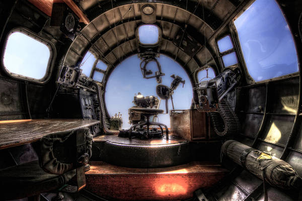 Photograph - Inside The Flying Fortress by Van Sutherland