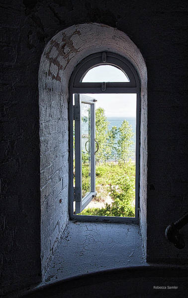 Photograph - Inside The Lighthouse by Rebecca Samler