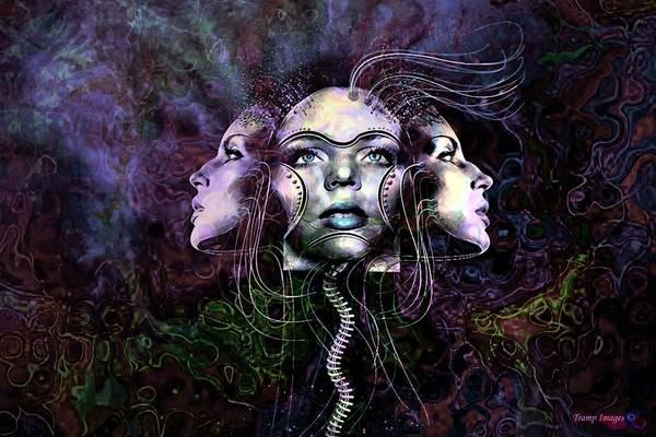Digital Art - Inside The Mind by Wesley Nesbitt