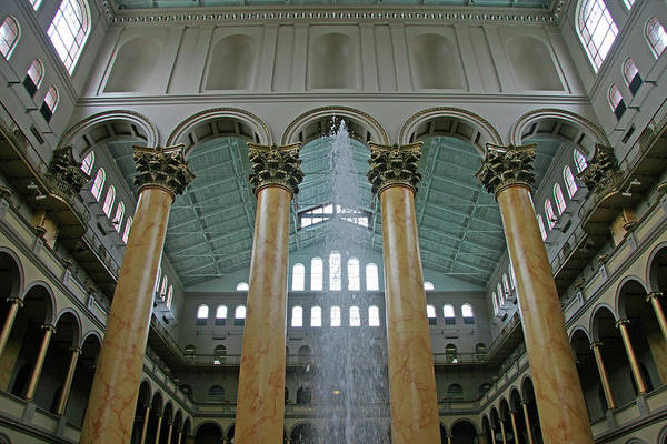 Endorsement Photograph - Inside The National Building Museum by Cora Wandel