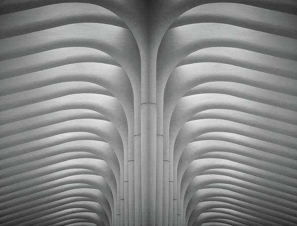 Photograph - Inside The Oculus by Rand
