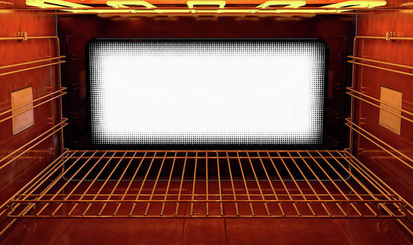 Warmth Digital Art - Inside The Oven by Allan Swart