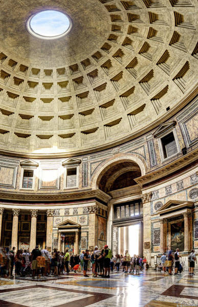 Photograph - Inside The Pantheon by Weston Westmoreland