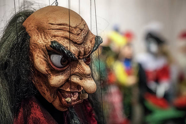 Photograph - Inside The Puppet Store - Prague by Stuart Litoff